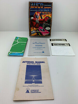 AU1.35 • Buy AUTO DUEL GAME BY ORIGIN SYSTEMS FOR IBM/Tandy PC Big Box