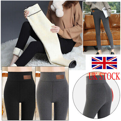 £10.99 • Buy NEW Women Ladies Winter Thick Warm Fleece Lined Thermal Stretchy Leggings Pants