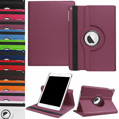 AU15.97 • Buy For IPad 234 5th 6th Gen Air Mini Pro 10.5  9.7  7.9  Rotating Flip Leather Case