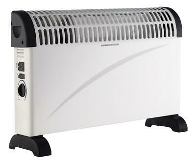 £25.95 • Buy Convector Heater Radiator 2kW Electric Warm Heating Standing With Turbo Boost