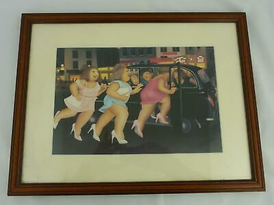 £19.99 • Buy Beryl Cook 'Girls In Taxi' Under Framed Print 8  X 11.5