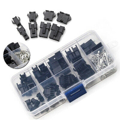 AU14.62 • Buy 200Pcs Electrical Male/Female JST-2.54mm Dupont Connector Pins Way Cable Plugs