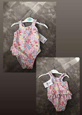 £0.99 • Buy Baby Girl Swimsuit 0-3 Months