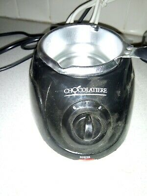 £6 • Buy Chocolatiere By Lentek Used Electric Chocolate Melting Pot