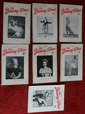 £5 • Buy 7 X Ww2 - The Dancing Times - 1941,42,43,44 & 45 - Magazines & Home Front