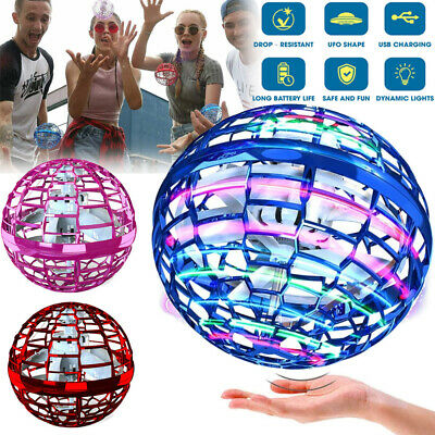 AU41.92 • Buy Mini Hand UFO Drone Flying For Kids Mini Ball Toys Helicopter Hover Quadcopter
