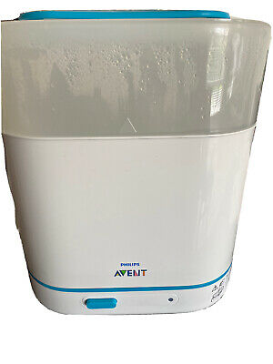 AU41.50 • Buy Philips Avent 3-in-1 Electric Steam Steriliser With Fast Cycle And Auto Fits 6