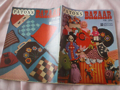 £1.50 • Buy Patons Bazaar Booklet - 50 Gifts To Knit & Crochet