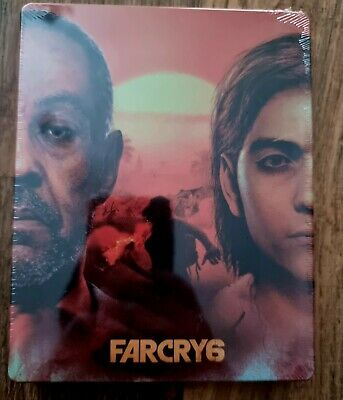 AU51.93 • Buy Far Cry 6 PS5 Limited Edition Steelbook ONLY *STILL SEALED*