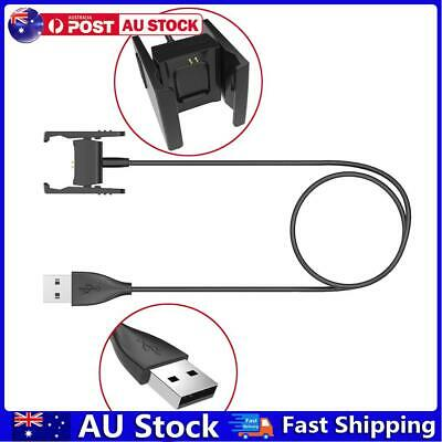 AU8.09 • Buy USB Charging Cable Standard Charger Cable For Fitbit Charge 2 AU