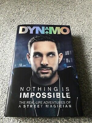£14.99 • Buy Nothing Is Impossible: The Real-LifeStreet Magician Dynamo Signed Book