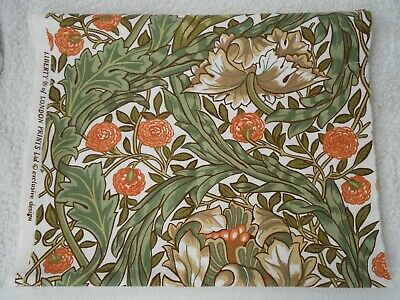 £3.19 • Buy Liberty William Morris African Marigold Fabric Remnant 13  Wide By 82  Long