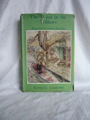 £12.99 • Buy The Wind In The Willows Grahame Illustrated Rackham 1950 With Dust Jacket Scarce