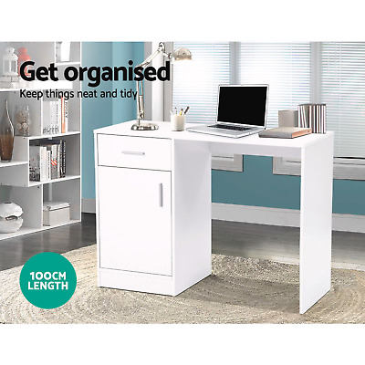 AU55 • Buy Artiss Computer Desk Office Table Drawers Storage Laptop Student Study Work Home