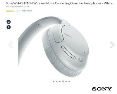 AU90 • Buy Sony Wireless Noise Cancelling Headphones WH-CH710N *BRAND NEW- IN BOX* RRP $199