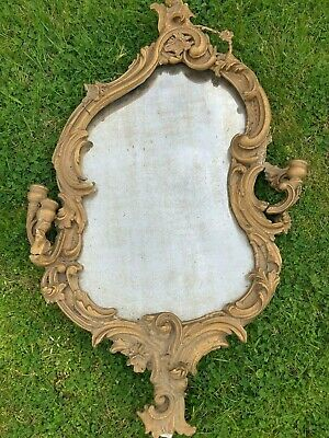 £90 • Buy Antique Regency (probably French Made) Ornate Mirror. In Need Of Restoration.