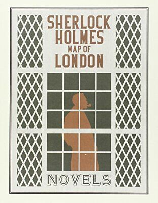£6.99 • Buy Sherlock Holmes Map Of London Book The Cheap Fast Free Post