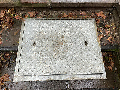£100 • Buy Heavy Duty Galvanised Manhole Cover With Frame Brand New