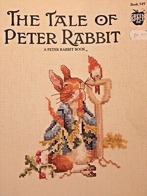 £2.99 • Buy **THE TALE OF PETER RABBIT Cross Stitch Chart Book**12 Designs**