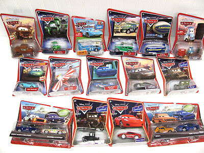 £21.02 • Buy 15 NEW Disney Pixar CARS LOT The King Guido Fred Darrell Cartrip Sarge Lizzy++