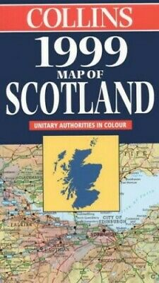 £5.99 • Buy 1999 Map Of Scotland By Not Known Sheet Map, Folded Book The Cheap Fast Free