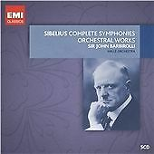 £4 • Buy Sibelius: The  Complete Symphonies, Orchestral Works -5 CDS BOOKLET ALL VG