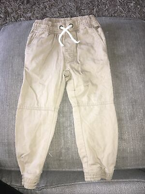 £0.99 • Buy Boys Cargo Trousers/chinos Age 3 Yrs From Next. Stone Colour With Cuff Leg Worn!