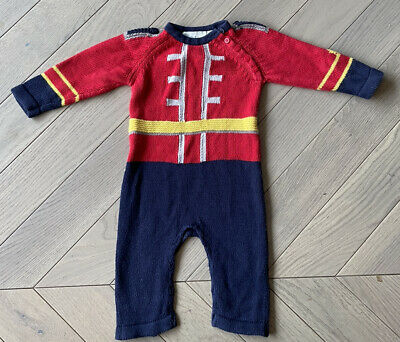 £25 • Buy Stella McCartney Kids Baby Soldier Knitted Baby Grow 9 Months/6-9 Months