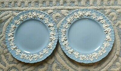 £24.99 • Buy Wedgwood Of Etruria And Barleston Queens Ware Large Plates X 2