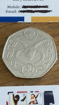 £1.90 • Buy 2020 LAUGHTON RAM ISLE OF MAN UNCIRCULATED 50p FIFTY PENCE COIN.