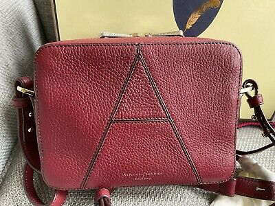 £199 • Buy Aspinal Of London Saffiano Leather Camera A Bag RRP £295