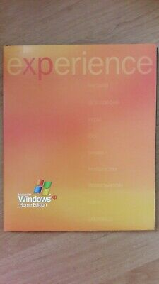 £13.78 • Buy Microsoft WindowsXP Home Edition Full Russian Version 2002 With Product Key DISC