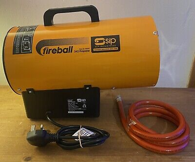£99.95 • Buy SIP Fireball 342 Integrated Propane Space Heater Workshop 240v 10kw Industrial
