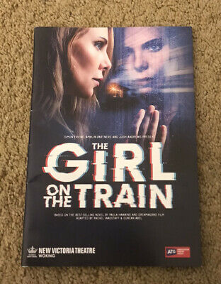 £1.99 • Buy The Girl On The Train Tour Programme 2019 Samantha Womack & Oliver Farnworth