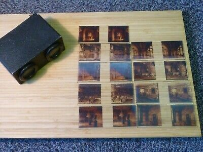 £10 • Buy Vintage Stereoscope Glass Slides And Viewer