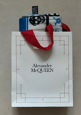 AU312.62 • Buy Alexander Mcqueen Skull Scarf With Gift Bag 🔥