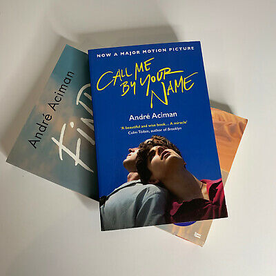 AU38 • Buy Andre Aciman X2. Find Me & Call Me By Your Name. Free Shipping.