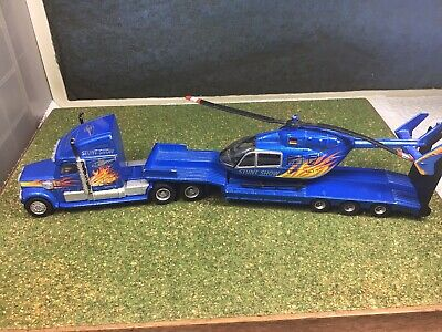 £10 • Buy 1/87 Siku Low Loader With Helicopter