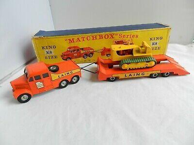 £29 • Buy Matchbox King Size K-8 Tractor And Transporter
