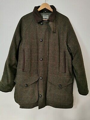 £50 • Buy Hoggs Of Fife Field Pro Green Tweed Hunting Field Coat. Large. Excellent Cond!