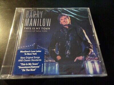 £3 • Buy Cd Album - New And Sealed - Barry Manilow - This Is My Town