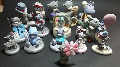£7 • Buy Collection Of Me To You TattyTeddy Figures /Items Including A Snow Globe.