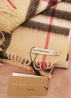 £82 • Buy Burberry Scarf Cashmere