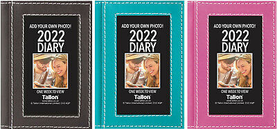 £3.25 • Buy 2022 Week To View Diary Pocket Size Personal Photo Frame & Flexi Cover Planner