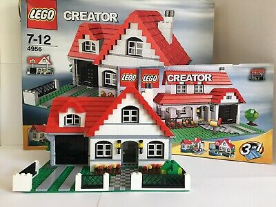 £20 • Buy LEGO Creator 3 In 1 House (4956) RETIRED SET, USED, WITH BOX AND INSTRUCTIONS