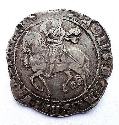 £295 • Buy Charles I Halfcrown Mm Triangle In Circle 1641-3  F/VF