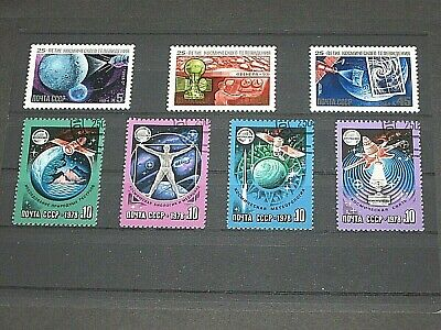 £3 • Buy 1978  &  1984 - Russia 2 X Stamp Sets  - Space - 7 Stamps - MNH