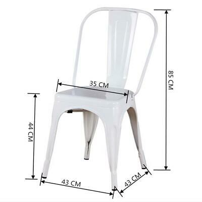 AU68 • Buy Artiss Dining Chairs Kitchen Chair White - MOBPP658WHX4