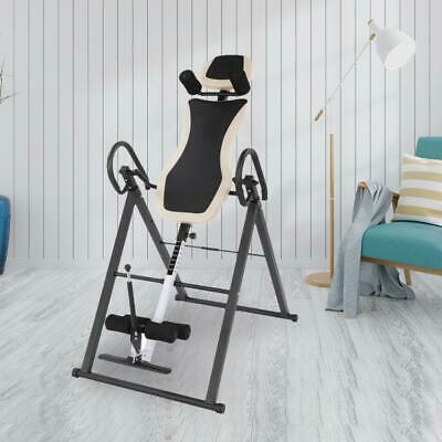 £85 • Buy Updated Gravity Inversion Table Body Muscle Therapy Bench W/ Safe Belt Foldable