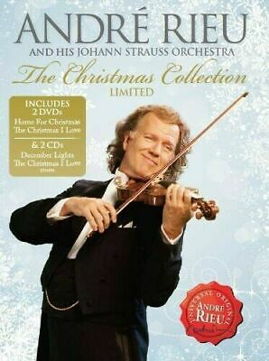 £19.99 • Buy ANDRE RIEU The Christmas Collection Limited 2-DVD & 2-CD Set NEW/SEALED Home For